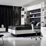 508147 Decoração de quarto preto e branco dicas fotos 18 150x150 Decoração de quarto preto e branco: dicas, fotos