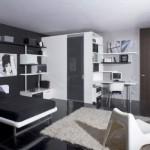 508147 Decoração de quarto preto e branco dicas fotos 24 150x150 Decoração de quarto preto e branco: dicas, fotos