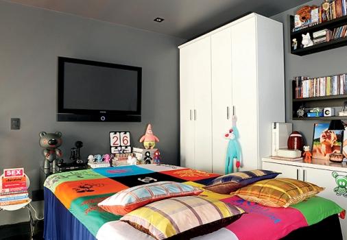 508623 Quarto colorido para meninas fotos 4 150x150 Quarto colorido ...