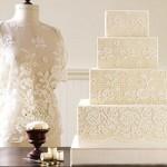508669 Bolo rendado de casamento fotos 6 150x150 Bolo rendado de casamento: fotos