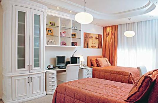 Decoração de quarto para duas meninas MundodasTribos  ~ Quarto Planejado Para Duas Irmas