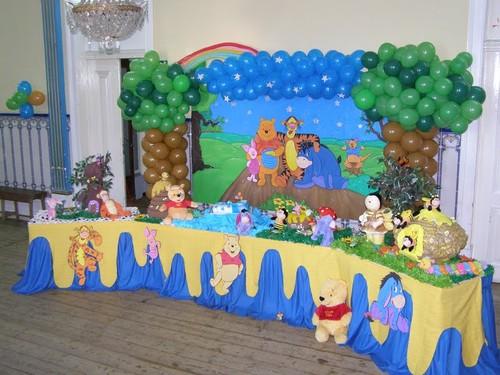 Decoração de aniversário urso Pooh Baby  MundodasTribos – Todas as tribos em