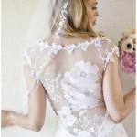 509185 A transparência proporciona muita beleza elegância e sofisticação às noivas Fotodivulgação. 150x150 Vestidos de noiva com transparência: fotos
