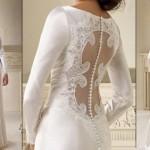 509185 As transparências nas costas aparecem em grande estilo nos vestidos de noiva Fotodivulgação. 150x150 Vestidos de noiva com transparência: fotos