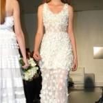 509185 Os vestidos com transparência nas pernas proporcionam visual mais ousado Fotodivulgação. 150x150 Vestidos de noiva com transparência: fotos