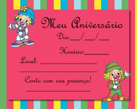 510697 Convites de festa de aniversário infantil para imprimir 14 Convites de festa de aniversário infantil para imprimir