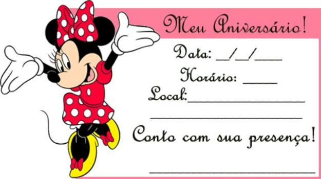 510697 Convites de festa de aniversário infantil para imprimir 4 Convites de festa de aniversário infantil para imprimir
