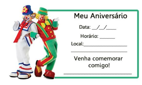 510697 Convites de festa de aniversário infantil para imprimir 6 Convites de festa de aniversário infantil para imprimir