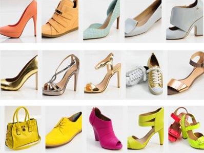 Calçados verão 2013 - variedade de cores e modelos (Foto: Divulgação)