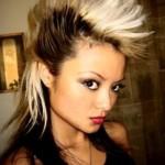 514352 Mulheres com cabelo moicano fotos 150x150 Mulheres com cabelo moicano: fotos