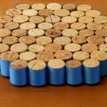 514778 Os descansos de panela revestidos são ótimas opções para serem feitos Foto divulgação. 150x150 Descanso de panela com rolhas de garrafa, como fazer