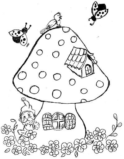 desenhos sobre primavera para colorir