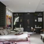 519375 quartos com parede de cor escura fotos 28 150x150 Quartos com paredes de cor escura: fotos