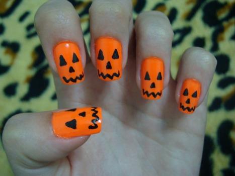 Resultado de imagem para unhas para o halloween