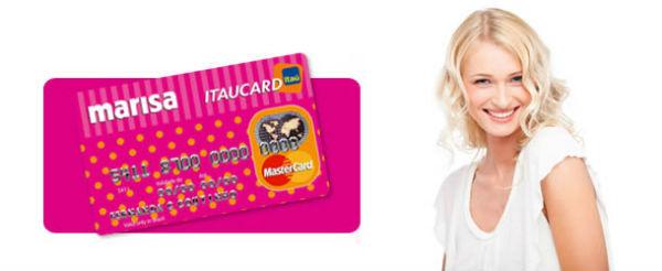 marisa cartão itaucard
