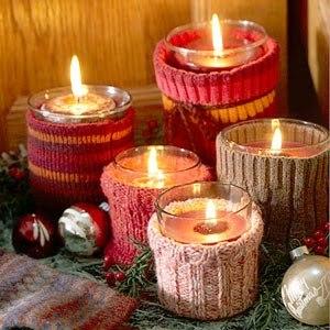 Resultado de imagem para velas natalinas simples