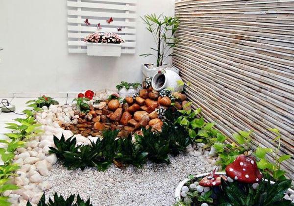 gruta para jardim de inverno:Jardim de Inverno: 50 fotos incríveis para fazer em casa!!