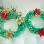 538606 As guirlandas de materiais recicláveis são excelentes opções. Foto divulgação 150x150 Festa de Natal na escola: dicas de decoração