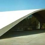 539254 O arquiteto brasileiro liderou o projeto da Universidade de Constantine na Argélia em 1969. Na foto o auditório da universidade 150x150 Principais obras do Oscar Niemeyer