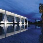 539254 Palácio da Alvorada uma das mais importantes obras da arquitetura de Brasília. A construção foi inaugurada em 30 de junho de 1958 150x150 Principais obras do Oscar Niemeyer