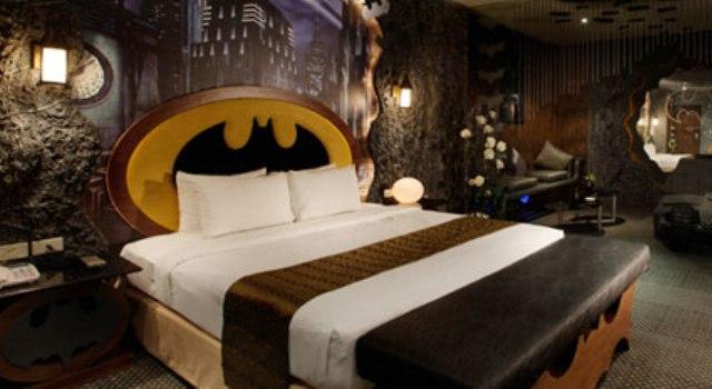 Cortina Para Quarto Dos Vingadores ~ Batman inspirou a decora??o do quarto (Foto Divulga??o)