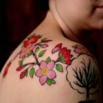 540880 Tatuagens de flor de cerejeira fotos 5 150x150 Tatuagens de flor de cerejeira: fotos