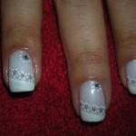 541380 As unhas decoradas com branco e glitter caem muito bem. Foto divulgação 150x150 Unhas decoradas Réveillon 2012 2013