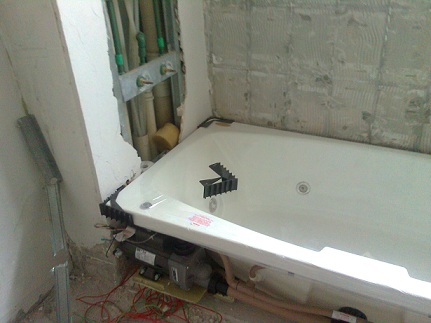 Banheiras prontas para instalar