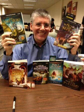 Livros de Rick Riordan