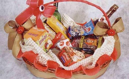 Produtos para montar cesta de Natal 2018