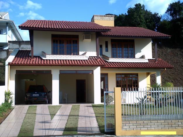 Casas com 2 pavimentos for Modelos de casas de 2 pisos