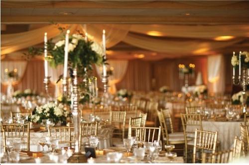 decoracao branca casamento: casamentos. Foto divulgação 150×150 Decoração de casamento dourado