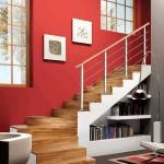 554543 Saber utilizar bem o espaço é muito importante. 150x150 Decorar sala pequena com escada
