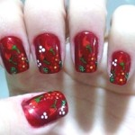 556935 A combinação de verde e vermelho é a cara do natal. 150x150 Unhas decoradas com motivos natalinos: fotos