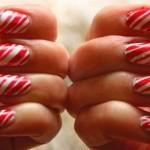 556935 As candy nails podem ser usadas nas festas de natal. 150x150 Unhas decoradas com motivos natalinos: fotos