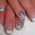 556935 Bonecos de neve são despojados. 150x150 Unhas decoradas com motivos natalinos: fotos