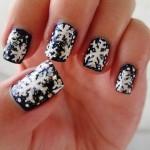 556935 Flocos de neve são fáceis de fazer. 150x150 Unhas decoradas com motivos natalinos: fotos
