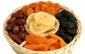Frutas secas: benefícios