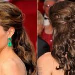 568649 Os cabelos semi presos ficam muito bonitos para madrinhas. Foto divulgação 150x150  Penteados para madrinhas e daminhas: fotos