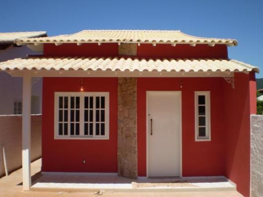 Fachadas de casas bonitas e pequenas mundodastribos for Casa para herramientas de pvc