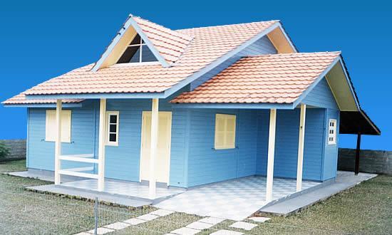 Fachadas de casas bonitas e pequenas for Modelos de casas chiquitas pero bonitas