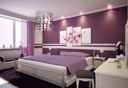 Dicas Para Decorar O Quarto Capricho ~ lil?s tamb?m pode ser usado para decorar o quarto de casal (Foto