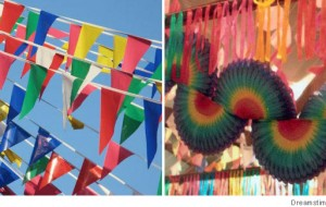 Enfeites para festas julinas: fotos