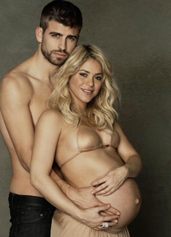 O bebê é o primeiro filho da cantora e do jogador de futebol (Foto: Divulgação)