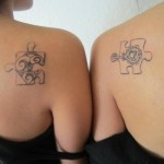574632 As peças de quebra cabeças também podem ser usadas. Foto divulgação 150x150 Tatuagens para casal: dicas, fotos