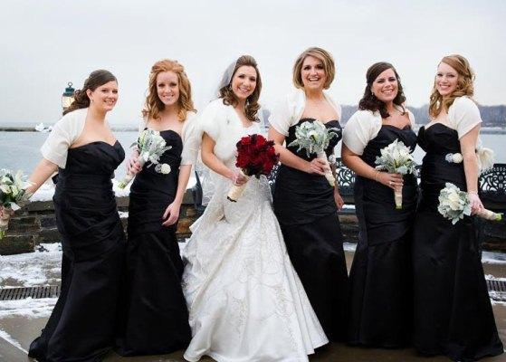 Madrinha de casamento pode vestir vestido preto