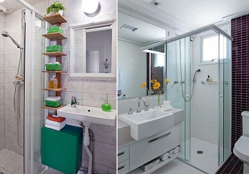 Dicas de decoração para banheiro pequeno  MundodasTribos – Todas as tribos e -> Banheiro Simples Reforma