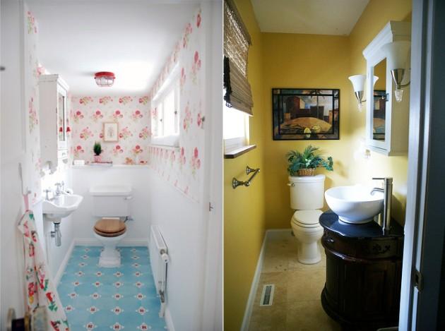 Dicas de decoração para banheiro pequeno -> Decoracao De Banheiro Com Vaso Cinza