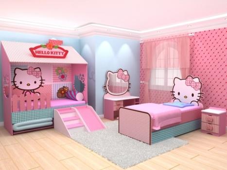 Quarto De Menina Com Tema Hello Kitty Foto Divulga O