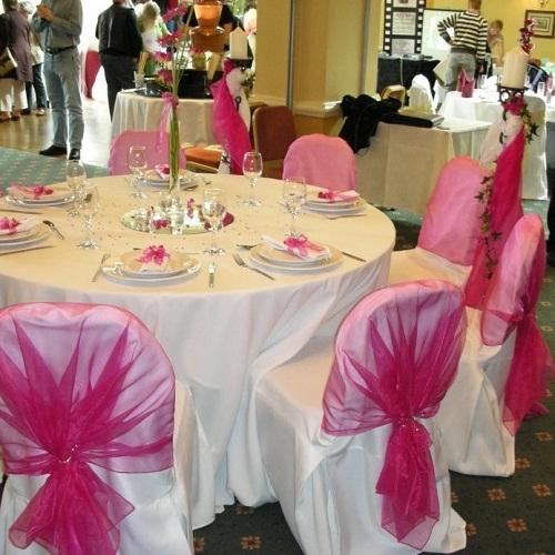 Decoração pink e branco (Foto Divulgação)